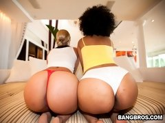 Wow... We got 80 some inches of ass today on Assparade. This weeks feature stars Daiquiri Divine and Paris. These two ladies are super fine with Monst